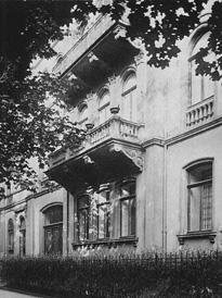 Wohnhaus H. B. Blavatskys in Würzburg